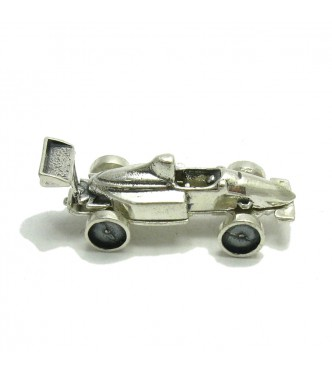 A000041 Sterling Silver  Collectible Solid F1 Car 925