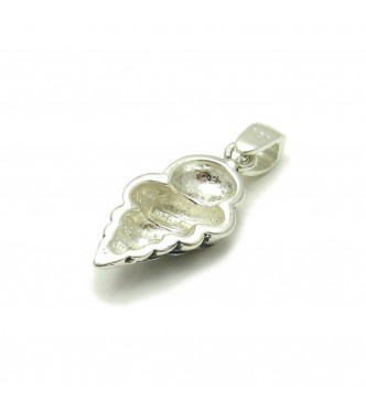 PE000028 Sterling silver pendant 925 Shell Charm