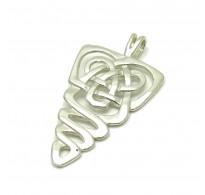 PE000118 Sterling silver pendant Celtic solid 925