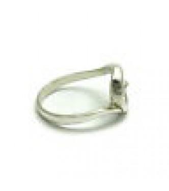 R000507 Stylish Sterling Silver Ring Spiral Genuine Stamped Solid 925 Handmade Empress