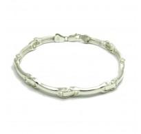 B000181 Stylish Sterling Silver Men Bracelet Solid 925