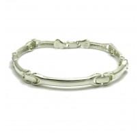 B000183 Stylish Sterling Silver Men Bracelet Solid 925