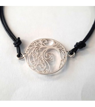 B000262 Sterling Silver Bracelet Tree Of Life Genuine Hallmarked Solid 925