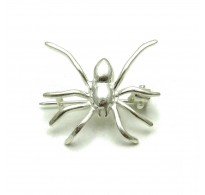 A000013 STERLING SILVER BROOCH SOLID 925 SPIDER NEW