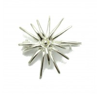 A000085 STERLING SILVER BROOCH SOLID 925  EMPRESS