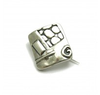 A000133 STERLING SILVER BROOCH  SOLID 925  EMPRESS