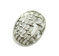 A000134 Handmade sterling silver brooch solid 925  Empress