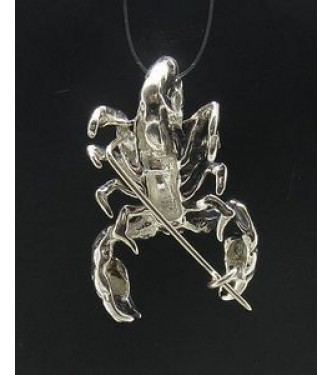 A000010 STERLING SILVER BROOCH SOLID 925 SCORPIO NEW