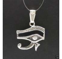 PE000154 Stylish Sterling silver pendant 925 Amon ra's eye