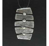 PE000290 Stylish Sterling silver pendant 925 charm handmade solid