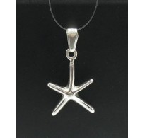 PE000227 Stylish Sterling silver pendant 925 sea star charm quality solid