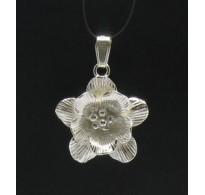 PE000346 Stylish Sterling silver pendant 925 solid Flower quality