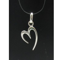 PE000342 Stylish Sterling silver pendant 925 heart perfect quality