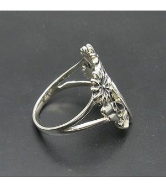 STERLING SILVER ENGAGEMENT RING SOLID 925 SIZE 3.5-10