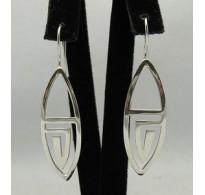E000163 Sterling Silver Earrings Solid925
