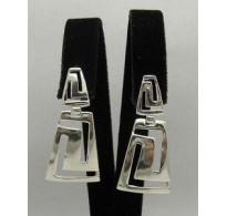 E000151 Sterling Silver Earrings Solid 925