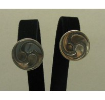 E000170 Sterling Silver Earrings Solid 925 French Clip