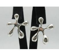 E000046 Stylish Sterling Silver Earrings 925