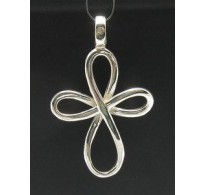 PE000399 Stylish Sterling silver pendant 925 solid cross quality