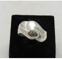 R000048 Stylish Plain Sterling Silver Ring Genuine Solid 925 Perfect Quality Handmade
