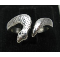 STYLISH STERLING SILVER RING SOLID 925 SNAKE NEW SIZE 3.5 - 10
