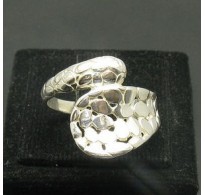 STYLISH STERLING SILVER RING SOLID 925 SNAKE NEW SIZE 4 - 10