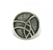R000036 STYLISH STERLING SILVER RING SOLID 925