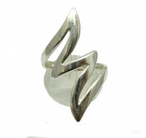 R000064 STERLING SILVER RING FORKED LIGHTNING SIZE 3.5 - 13