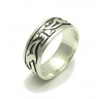 R000069 STERLING SILVER Ring Solid 925 Band