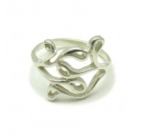 R000125 STERLING SILVER Ring Solid 925