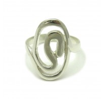 R000171 STERLING SILVER Ring Solid 925