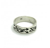 R000215 Sterling Silver Ring Solid 925 Band