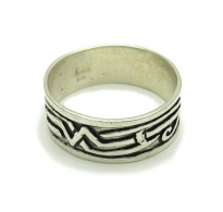 R000229 STERLING SILVER Ring Solid 925 Band