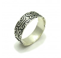 R000231 STERLING SILVER Ring Solid 925 Band