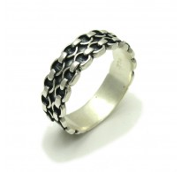 R000234 STERLING SILVER Ring Solid 925 Band
