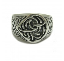 R000238 STERLING SILVER RING BAND 925 CELTIC NEW SIZE 4 -16