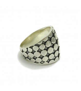R000295 STERLING SILVER RING SOLID 925 EMPRESS