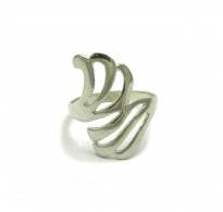 R000355 Stylish Sterling Silver Ring Hallmarked Genuine Solid 925 Nickel Free Empress