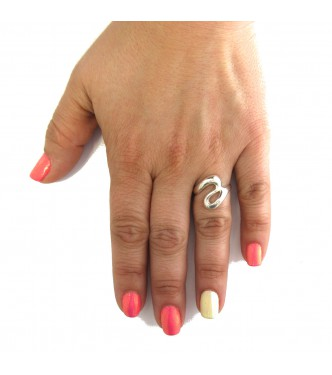 R000360 STERLING SILVER RING SOLID 925 EMPRESS