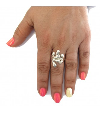 R000369 STERLING SILVER RING SOLID 925 EMPRESS