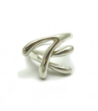 R000413 STERLING SILVER RING SOLID 925 EMPRESS
