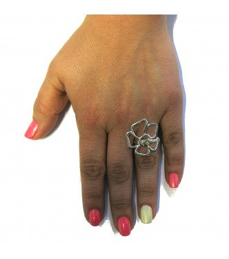 R000440 STERLING SILVER RING SOLID 925 EMPRESS