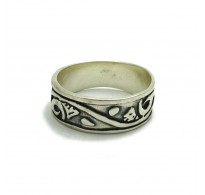R000499 Plain Sterling Silver Ring Band Genuine Stamped Solid 925 Nickel Free Empress