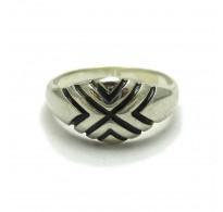 R000502 Genuine Plain Sterling Silver Ring Hallmarked Solid 925 Handmade Nickel Free