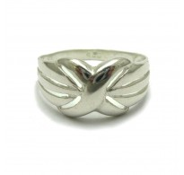 R001723 Stylish sterling silver ring solid 925  Empress