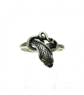R000001 STERLING SILVER RING SNAKE COBRA SIZE 3.5 - 12 QUALITY SOLID 925 NEW EMPRESS